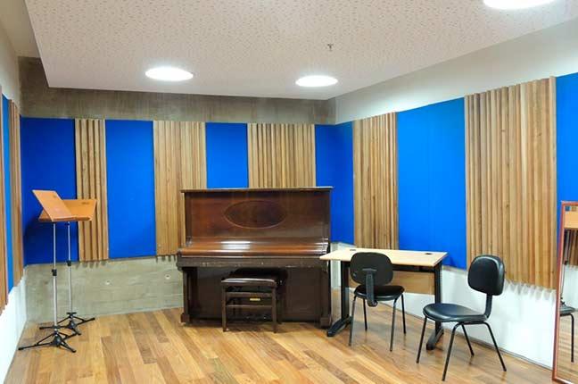 Isolamento Acústico em Sala de Música