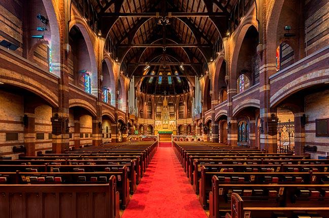 acústica para igreja